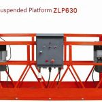 10m powered aluminum rope platforms ZLP1000 yek 2 * 2.2kw