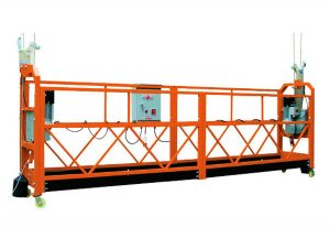 barbed wire rope gondola zlp500 spray paint platform
